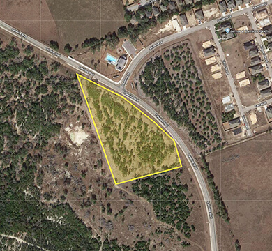 Leander Texas Lakeline Commercial Site